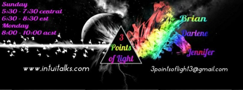 3 Points of Light – Free Flowing Conversation